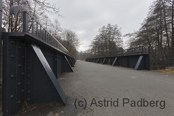 Hückeswagen, Eisenbahnbrücke für Fußgänger