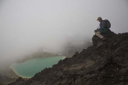 Tongariro Crossing, Emerald Lakes