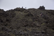 Tongariro Crossing, Hells Staircase bis South Crate