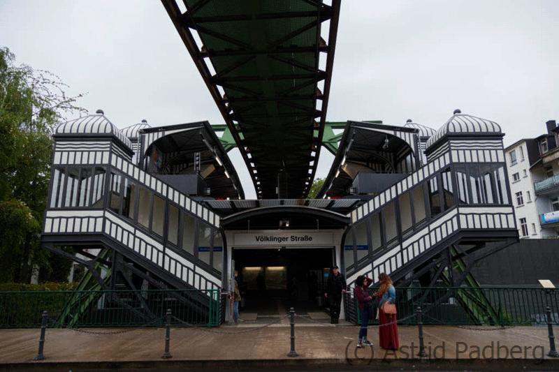 Schwebebahnstation Völklinger Straße