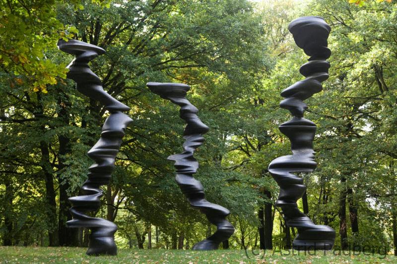 Skulpturenpark Waldfrieden, Tony Cragg, Points of View