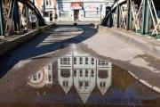Spiegelung Zoobrücke