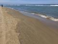 Salamis, Strand