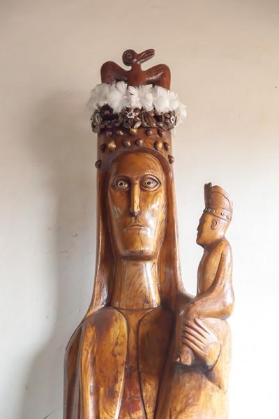 Osterinsel, Hanga Roa, Santa Maria de Rapa Nui