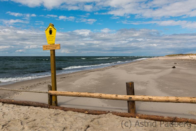 Nationalpark Strand gesperrt
