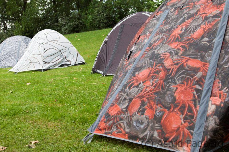 Zelte von Ai Weiwei für die Emscherkunst 2013