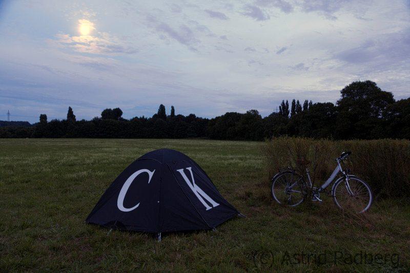 Zelt von Ai Weiwei
