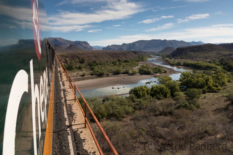 Zugfahrt von El Fuerte nach Bahuichivo