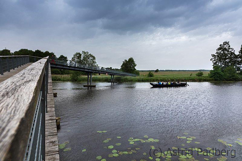 Melchers Brücke mit Torfkahn