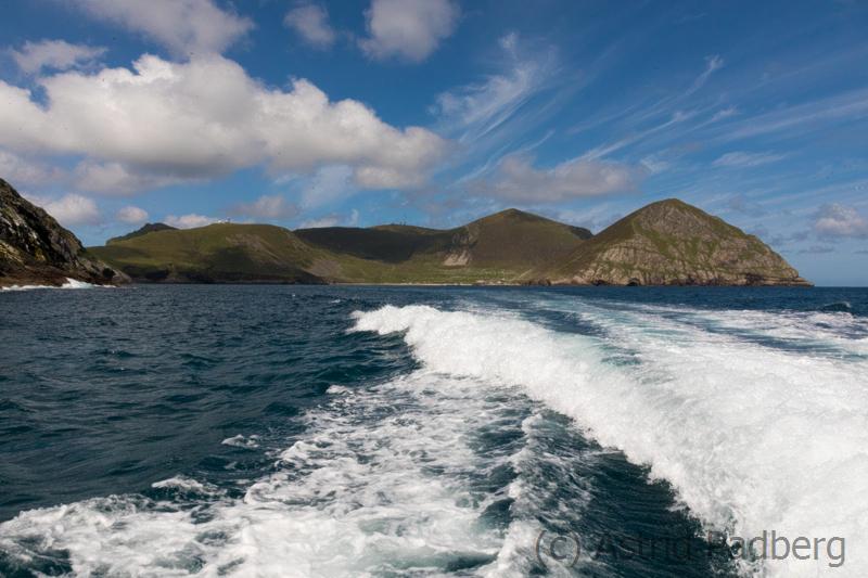 Blick auf Hirta, St. Kilda