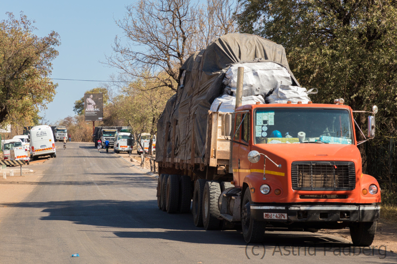 LKW in Sambia