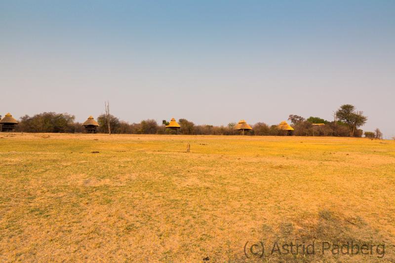 Blick auf das Rhino Safari Camp