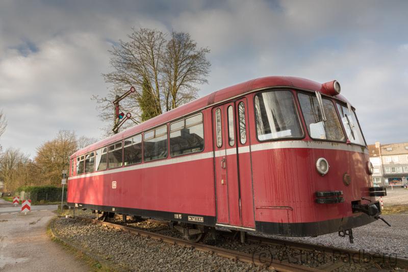 Schienenbus - Roter Brummer