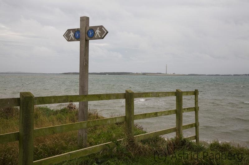 Zwischen Church Bay und Llanfachraeth