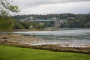 Menai Strait, Suspension Bridge von Thomas Telford