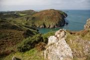 Zwischen Porth Wen und Llanlleiana Head