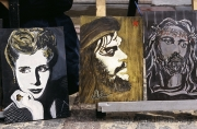 Evita, Che Guevara, Jesus Christus