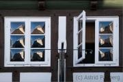 Fensterspiegelung, Detmold