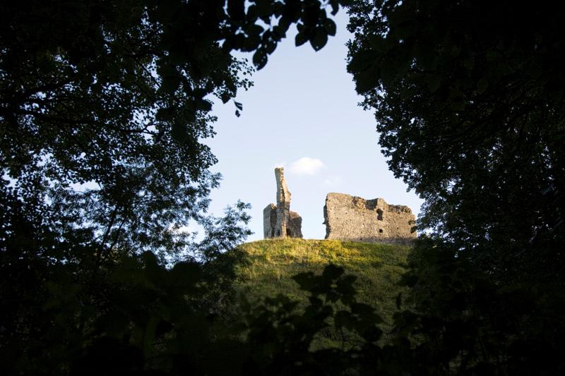 Okehampton, Castle