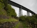 Okehampton nach Lydford, Meldon Viadukt