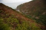 Küstenweg von Heddons Mouth nach Combe Martin