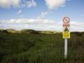 """Achtung """"Militärübungen"""", zwischen Braunton nach Barnstaple"""