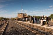 El Fuerte, Bahnhof