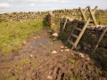 Stile, von Greenhead nach Housesteads