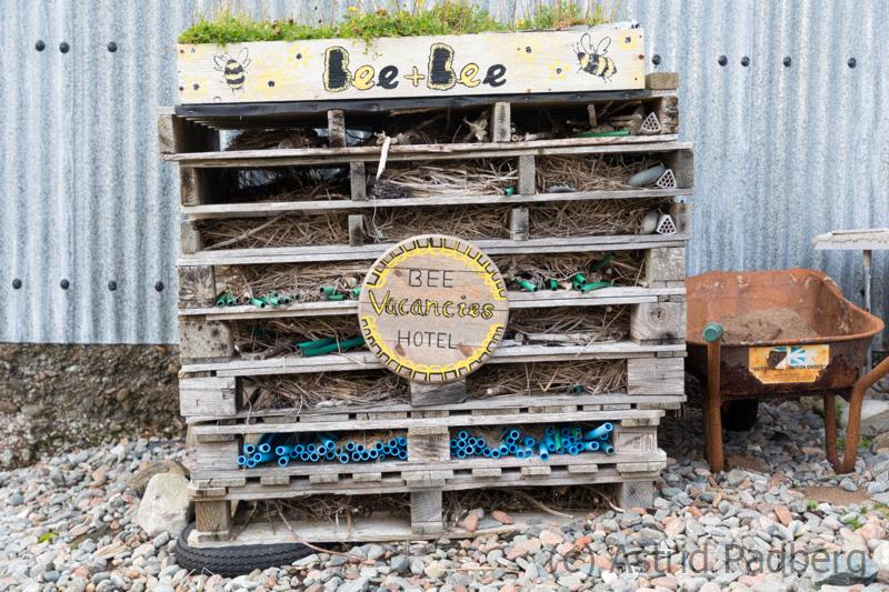 Nachhaltig genutzte Europaletten, Hillswick