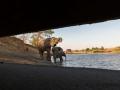 Wasserstelle, Kavinga