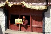 Weg zum Kloster Leh