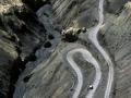 Landschaft auf dem Weg nach Lamayuru