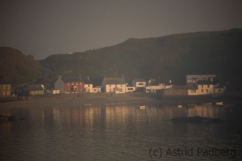 Porth Dinllaen bei Sonnenaufgang