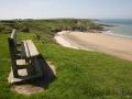 Meine Bank, Steilküste auf dem Weg von Morfa Nefin nach Carrog Farm
