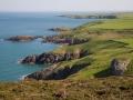 Küste zwischen Carrog Farm und Bryn Swynog