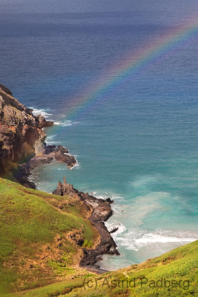 Ua Pou, Blick auf Anahoa Beach