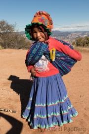Tarahumara-Mädchen, Posada Barrancas