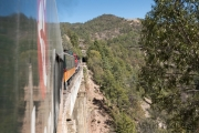 Zugfahrt Bahuichivo nach Posada Barranca