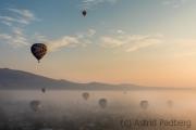 Ballonfahrt Teotihuacan