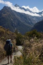 Wanderung The Divide nach Key Summit