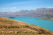 Lake Tekapo, Weg zum Mt. John