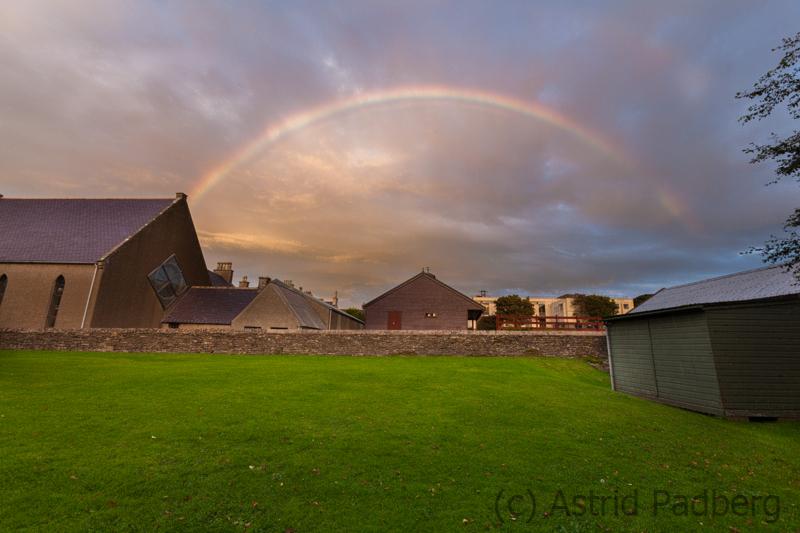 Regenbogen in Kirkwall