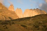 Torres del Paine bei Sonnenaufgang
