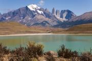 Laguna Amarga mit Blick auf Torres del Paine