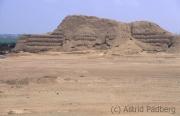 Pyramid of the sun, Trujillo, Peru