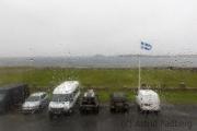 Sumburgh, Blick aus dem Hotelfenster