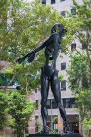 Homage to Newton, Salvador Dali