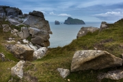 The Gap mit Blick auf Boraraigh